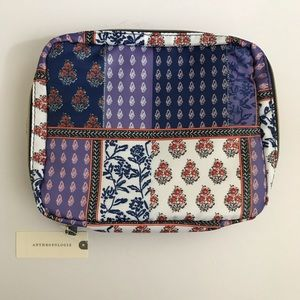 Anthropologie Gwendolyn Toiletry Cosmetic Bag NWT